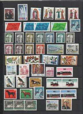 Berlin  Collection On 7 Pages Mnh