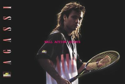 1 PETE SAMPRAS ANDRE AGASSI TENNIS LEGEND Photo Quality Poster Choose a Size