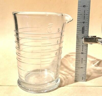 Eastman Kodak Glass 8 Ounce Measuring Beaker
