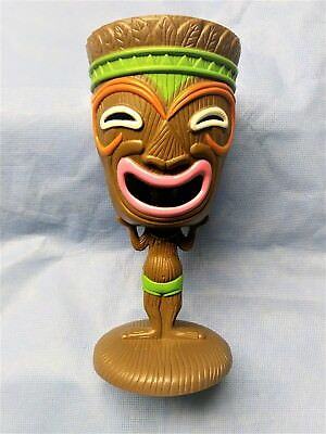 Tiki Goblet Plastic Hawaiian Luau Party Cup Tribal Mask NEW