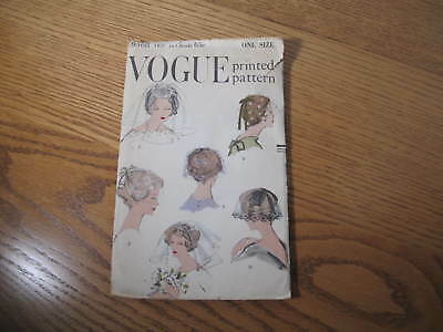 Vintage Vogue Sewing Pattern - 9568 - Ladies Veils
