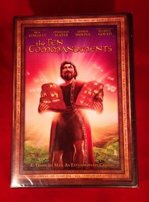 The Ten Commandments (DVD, 2008) BRAND NEW, SEALED ( Widescreen )