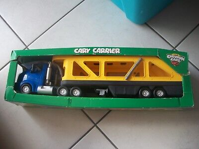 The Chevron Cars CARY CARRIER new in box Car Transporter FREE shipping