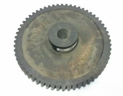 "Martin Sprocket W660 Worm Gear Pitch 6"" Pressure Angle 14.5° 60 Teeth Right Hand"