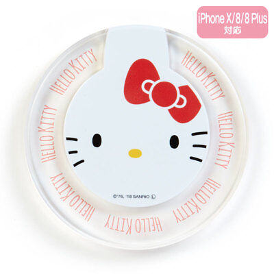 Hello Kitty Sanrio Wireless Charger iPhone X / 8 / 8Plus Japan Free Shipping