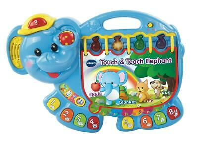 Touch and Teach Elephant Interactive Book - VTech Free Shipping!