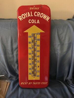 1954 Donasco Royal Crown Cola Thermometer High Quality