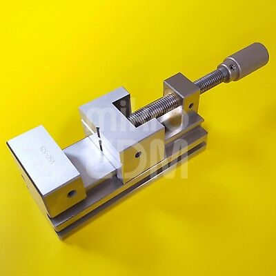 """Precision Stainless Steel EDM Vise Toolmakers Vise 95 mm (3 3/4"""") Jaw Opening"""