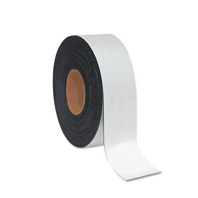 Dry Erase Magnetic Tape Roll, White, 2'' x 50 Ft.