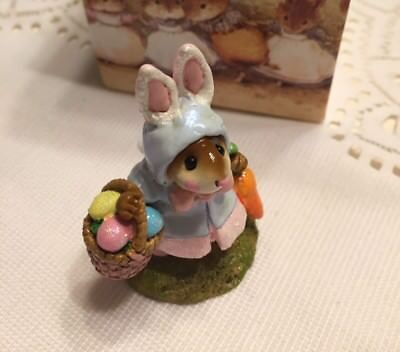 Wee Forest Folk Easter Bunny Mouse- Mint Condition