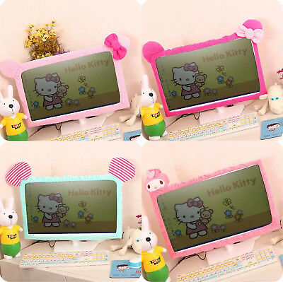 Hellokitty Computer Screen Antidust Cover Melody Elastic Cover Dumbo Pink Rose