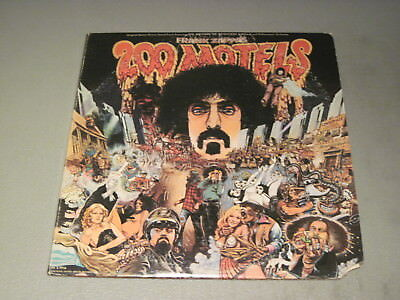 Frank Zappa- 200 Motels-2XLP 1971 United Artists UAS 9956