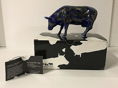 Westland Cow Parade Collectible Figurine FOR EVERY NEW YEAR #9184 Retired  NEW