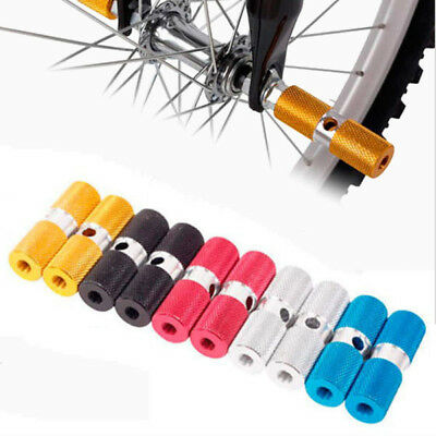 2Pcs Axle Foot Pegs Stunt Pedal for Cycling BMX Mountain Bike Bicycle Outdoor