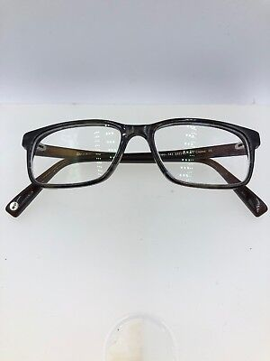 466a9d8d3e Warby Parker Eyeglasses Theo 141 51-16-145 Brown Blue Marble Fade H314