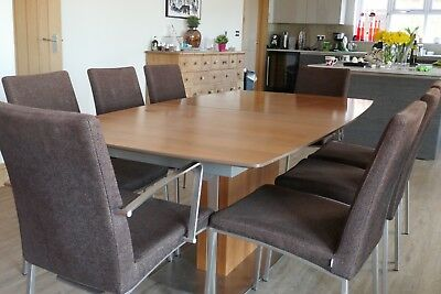 Fantastic Boconcept Dining Table And 8 Chairs 200 00 Picclick Uk Uwap Interior Chair Design Uwaporg
