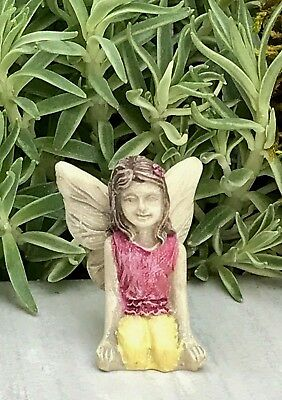 Miniature Dollhouse FAIRY GARDEN Accessories ~ Micro Girl Itty Bitty Belle