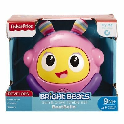 Fisher-Price Bright Beats Spin & Crawl Tumble Ball Toddler Baby Toys Gift NEW