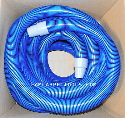 "Carpet Cleaning 50 FT Extractor Vacuum 2"" Hose w/ 2"" Cuffs & 50 FT Solution Hose"