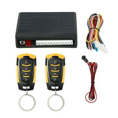 Universal Car Door Lock Central Kit Keyless Entry System Remote Control Box A0A5