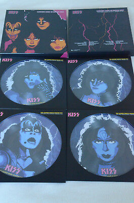 Kiss The Loudest Band in Motor City Deluxe Boxset 4x Pic Disc+72 P Book+Photos!
