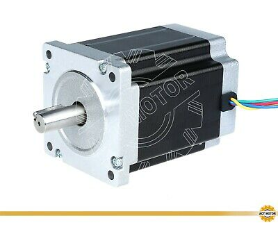 ACT MOTOR GmbH 1PC Nema34 Stepper Motor 34HS1450D14L34J5-2 114mm 8Nm 5A φ14mm