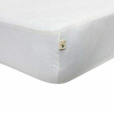 Burts Bees Baby - Solid Fitted Crib Sheet, 100% Organic Sheet for Standard
