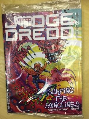 2000Ad Judge Dredd Megazine Issue 395 May 2018 Surfing The Songlines Chopper Ret