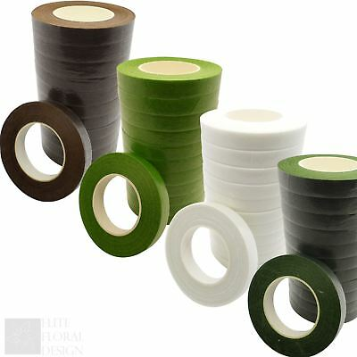 Florist Stem Tape - Floral Buttonholes Corsages Craft Floristry Wire Work