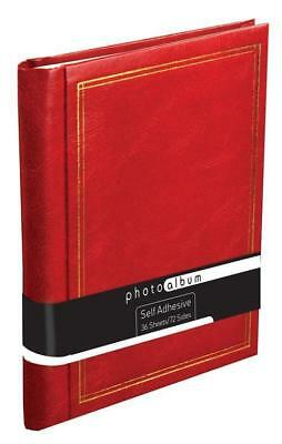36 Sheets 72 Pages Deluxe Self adhesive Photo Album Large Photograph Albums