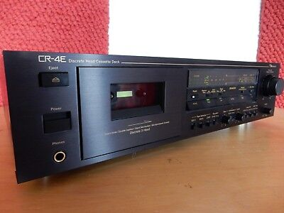 NAKAMICHI CR-4E 3 head stereo tape deck