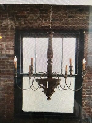 6-light Vintage French country Chandelier - New