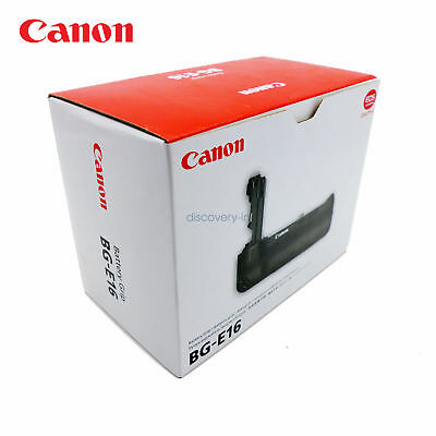 New Canon Battery Grip BG-E16 For EOS 7D MarkII Digital Accessories from CA US