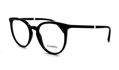 00775bc4d8 Brand New 2019 Chanel Women Eyewear CH 3376H C.501 Authentic Frame Pearl Rx  Case