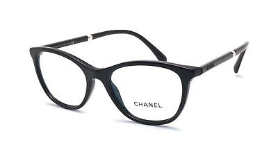 7d2603d300 Brand New 2019 Chanel Women Eyewear CH 3377H C.501 Authentic Frame Pearl Rx  Case