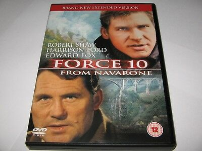 Force 10 From Navarone (1978) Robert Shaw Harrison Ford - Extended Version Dvd
