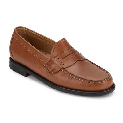 G.H. Bass & Co. Mens Wagner Genuine Leather Slip-on Classic Penny Loafer Shoe