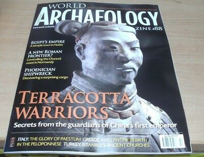 Current World Archaeology magazine #88 Apr/May 2018 Terracotta Warriors & more