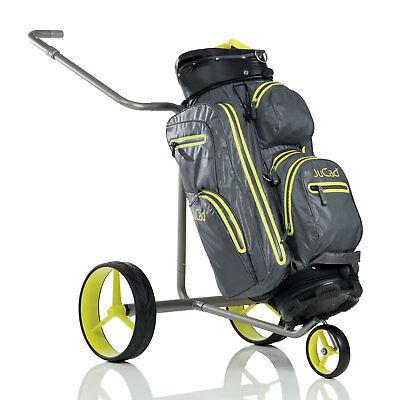 JuCad Golf Drive SL Travel aus Titan Elektrotrolley / Elektrocaddy incl. Bag