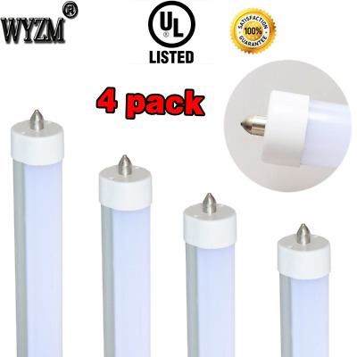 "LED Tube Single Pin 40W 96"" T12 8ft,F96T12 8' LED Fluorescent Tube Replacement"