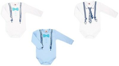 Elegant Bodysuits Special Occasion Boys Baby Cotton long sleeve size 74 up to 92