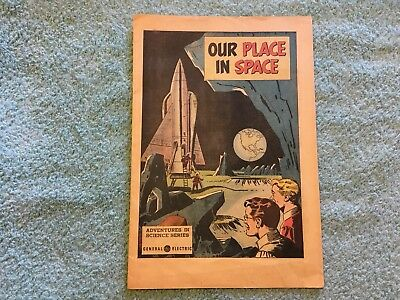 Our Place in Space General Electric giveaway Adventures In Science Rockets 1959