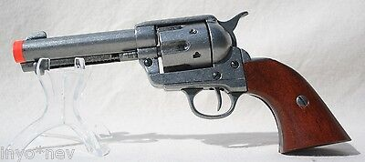 Denix M1873 Colt 45 Peacemaker Fast Draw Replica Pewter Grey NewinBox 50004