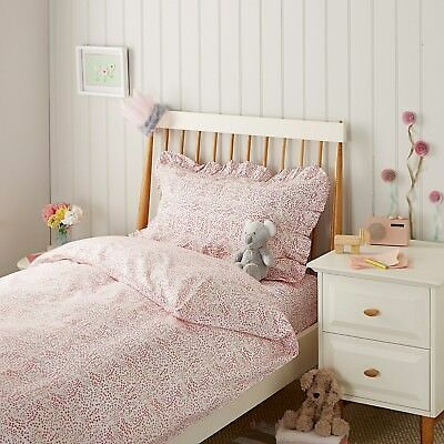 Garden Floral Bed Linen Multi Double Duvet Set by The Little White Company