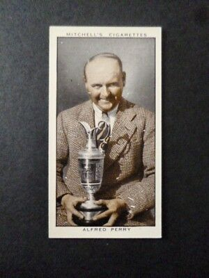 """Mitchell """"a Gallery Of 1935"""" Alfred Perry Golfer."""