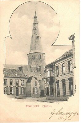 Carte Postale - Thourout - CPA - L'Eglise