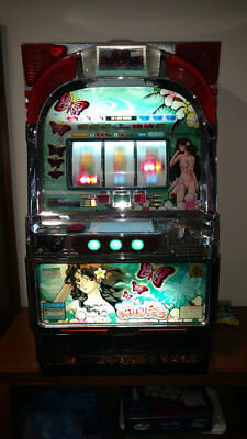 "Pachislo SKILL STOP JAPANESE  SLOT MACHINE Olympia ""Bikini Girl""  Tropical Night"