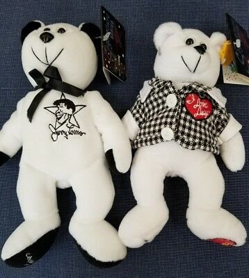 Jerry Lewis & I Love Lucy Classic Collecticritter Bears 8In Limited Edition