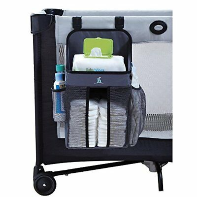 hiccapop Playard Nursery Organizer and Diapers | Baby Diaper Caddy