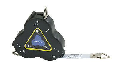 Triangular Scale Tape Cb01 Three-Sided Measure Architect